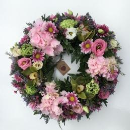 Fresh Flower Wreath.