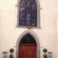 Rose Trees Outside Croom Church