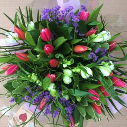 Pink Tulip Bouquet @flowersforever.ie